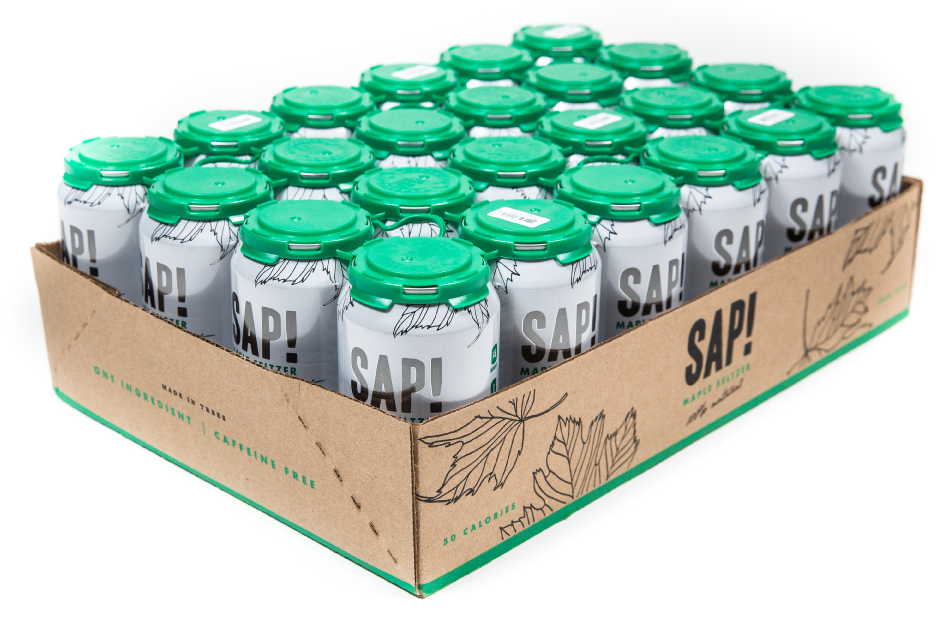 Sap! Maple Seltzer - Case of 24