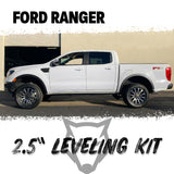 "2.5"" Front Leveling Lift Kit For 2019+ Ford Ranger 2WD/4WD Strut Spacers"