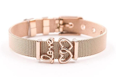 BRACELET ROSE GOLD - Time Pieces & Co.