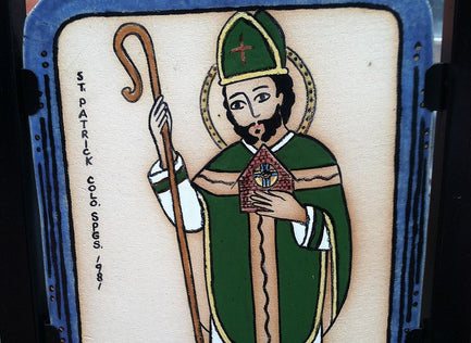 St. Patrick...and his Walking Stick?