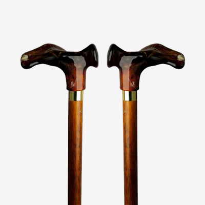 Contours Formed Right & Left Wood Shaft Canes