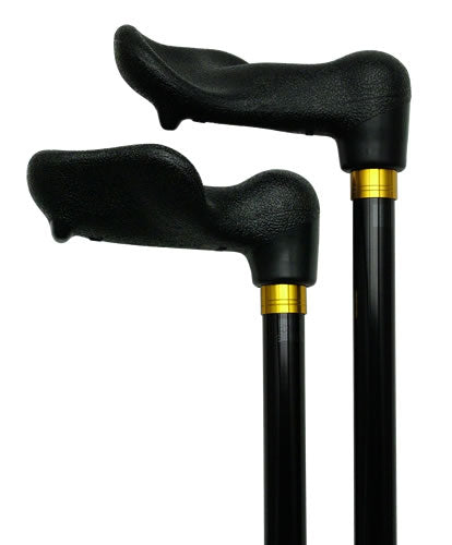 Palm Grip | Fischer Handle Adjustable Walking Cane -  BLACK 29