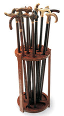LODGE Cane Stand, holds 14 canes/sticks (canes shown not incl)