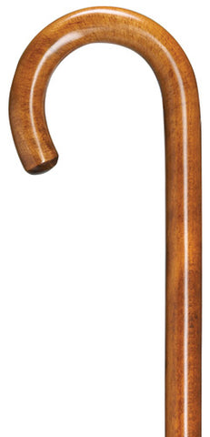 Cherry-Stained Maple Wood Tourist Crook 36