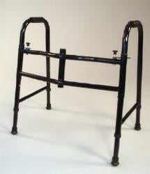 The Grand Line Short Extra Wide Double Button Folding Walker