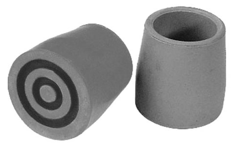 Walker Cane Rubber Tips, sold by PAIR, fits standard 1 1/8