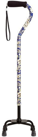 Dogwood Quad Cane, large base, 30-39
