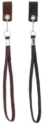 Wrist Strap w/out Snap-Off Clip in Black or Brown