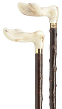 Marbled Palm Grip, genuine BLACKTHORN shaft, LEFT hand 36.5