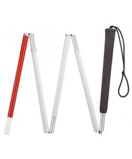 Six Section Folding Cane for Visually Impaired 52