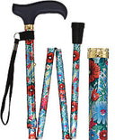 Beautiful Bouquet Adjustable Folding Cane