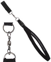 ROYAL CANES WRIST STRAP W/SWIVEL (BLACK OR BROWN)