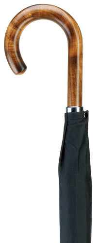 Men's Scorched Maple Wood Crook Umbrella 36