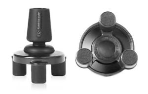 Tripod Base Black Thermoplastic 3/4