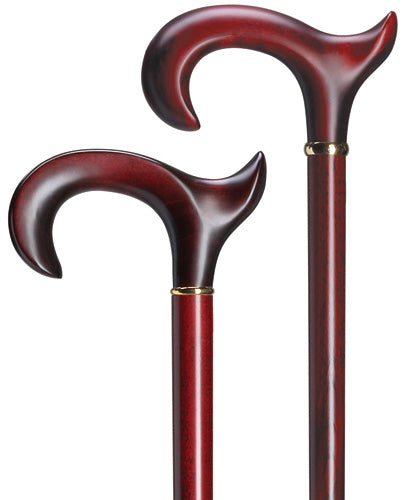 Men's Maple hardwood anatomic, Burgundy stained, RIGHT 36