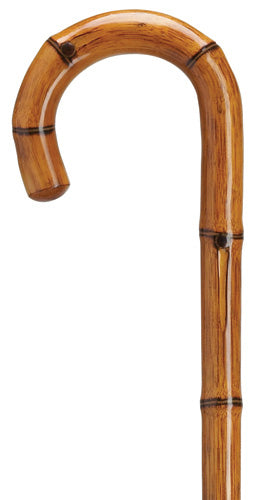 Genuine Manilla Bamboo Carving Crook, men's 36