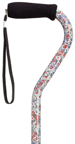 Wildflowers Offset Adjustable Cane 30-39