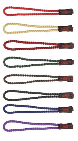 12 Assorted Colors Rope Wrist Straps for Walking Canes Set