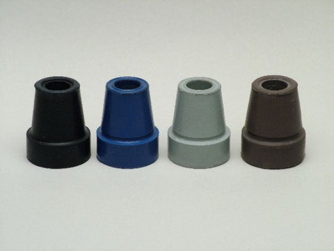 Smooth Rubber Tips for Aluminum Canes