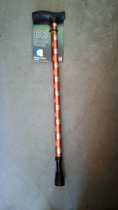 College Canes Clemson Tigers Adjustable Walking Cane