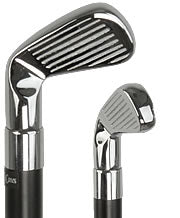 Chrome Plated Golf Club with Black Beechwood Shaft 38