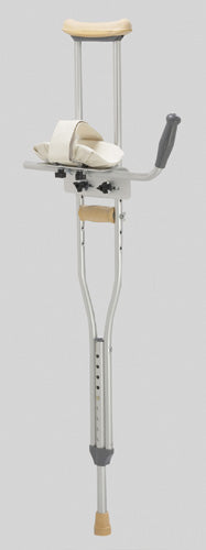 Platform Crutch Attachment, for aluminum crutches