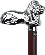 Lion's Pride Chrome Plated cat, Wenge wood shaft, 37.5