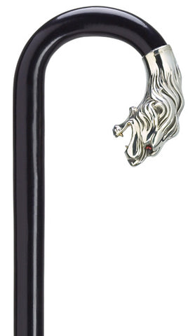 Lion Head Replica Alpacca Black Maple Crook Men's 36