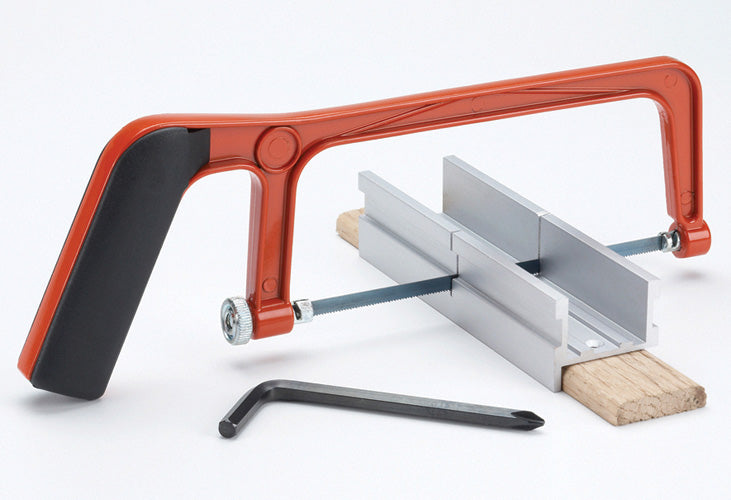 MITER BOX & SAW FOR SIZING CANES