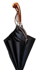 APPALACHIAN Umbrella, Chestnut knob handle w/ Rawhide Thong 36