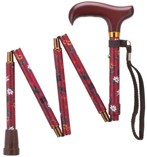Mini-Folding Adjustable Derby Canes 32-36