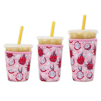 Brew Buddy Insulated Iced Coffee Sleeve | Dragonfruit LARGE