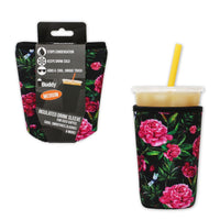 Brew Buddy Insulated Iced Coffee Sleeve | Hydrangea MEDIUM