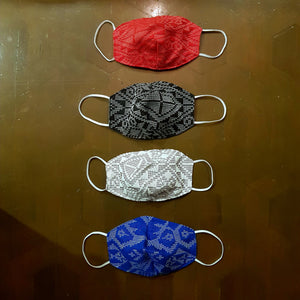 Yakan 3-layer Handwoven Mask w Electrostatic Filter (Non-Medical) - Set of 8