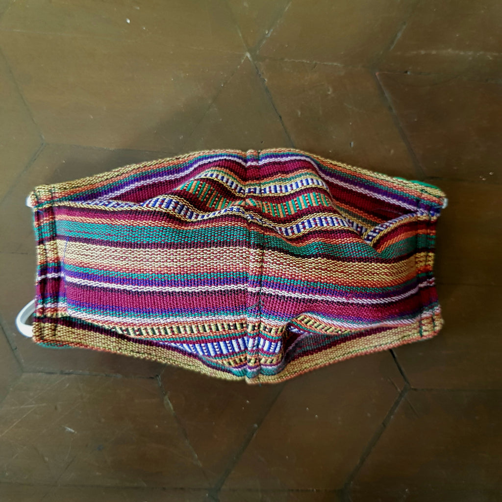 Yakan & Mangyan 2-layer Handwoven Mask w Electrostatic Filter (Non-Medical) - Set of 4