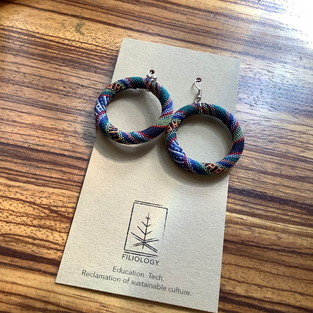Yakan Hoop Earrings (Set of 3)