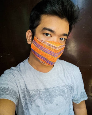 Kalinga, Benguet & Abra - Handwoven Mask w/ Filter Pocket (Set of 10)