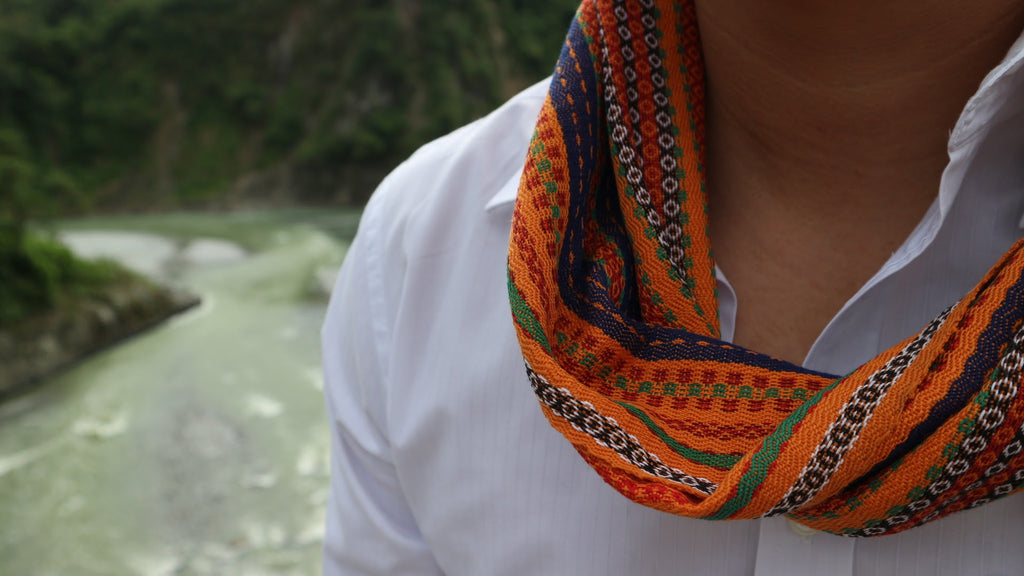 Kalinga Multi-Use Lilagtob Scarf, Belt & Headwrap
