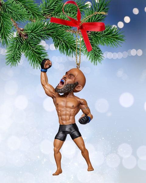 Demetrious Johnson Christmas Ornament