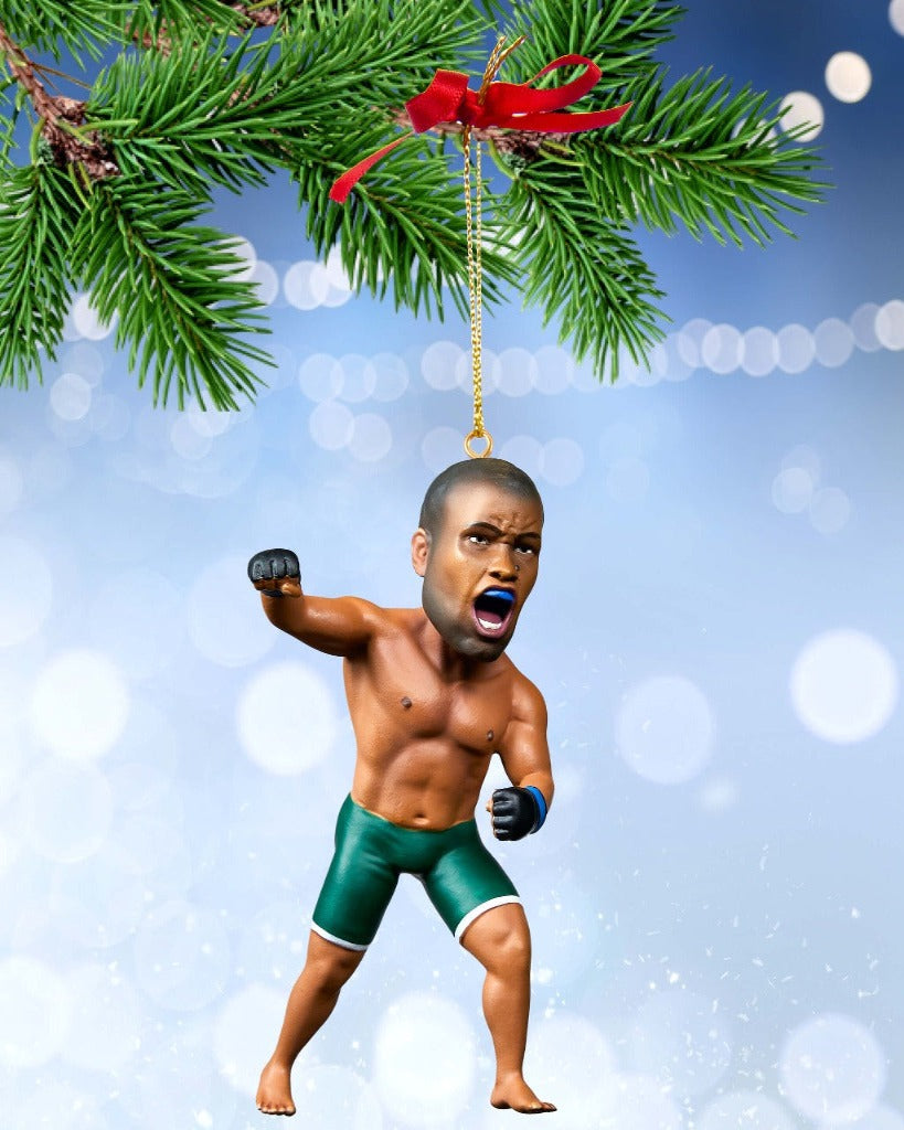 Daniel Cormier Christmas Ornament