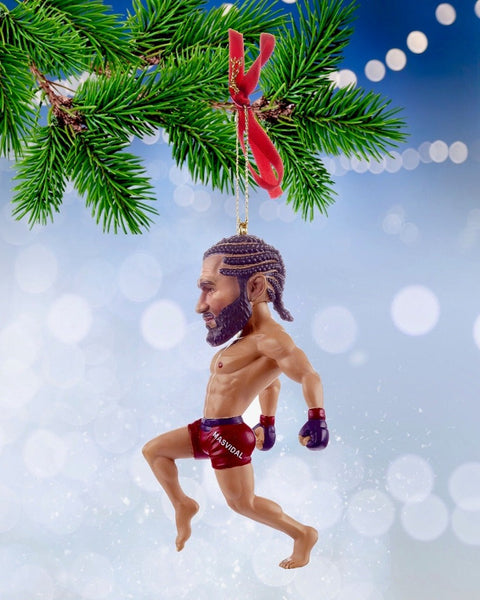 Jorge Masvidal Christmas Ornament