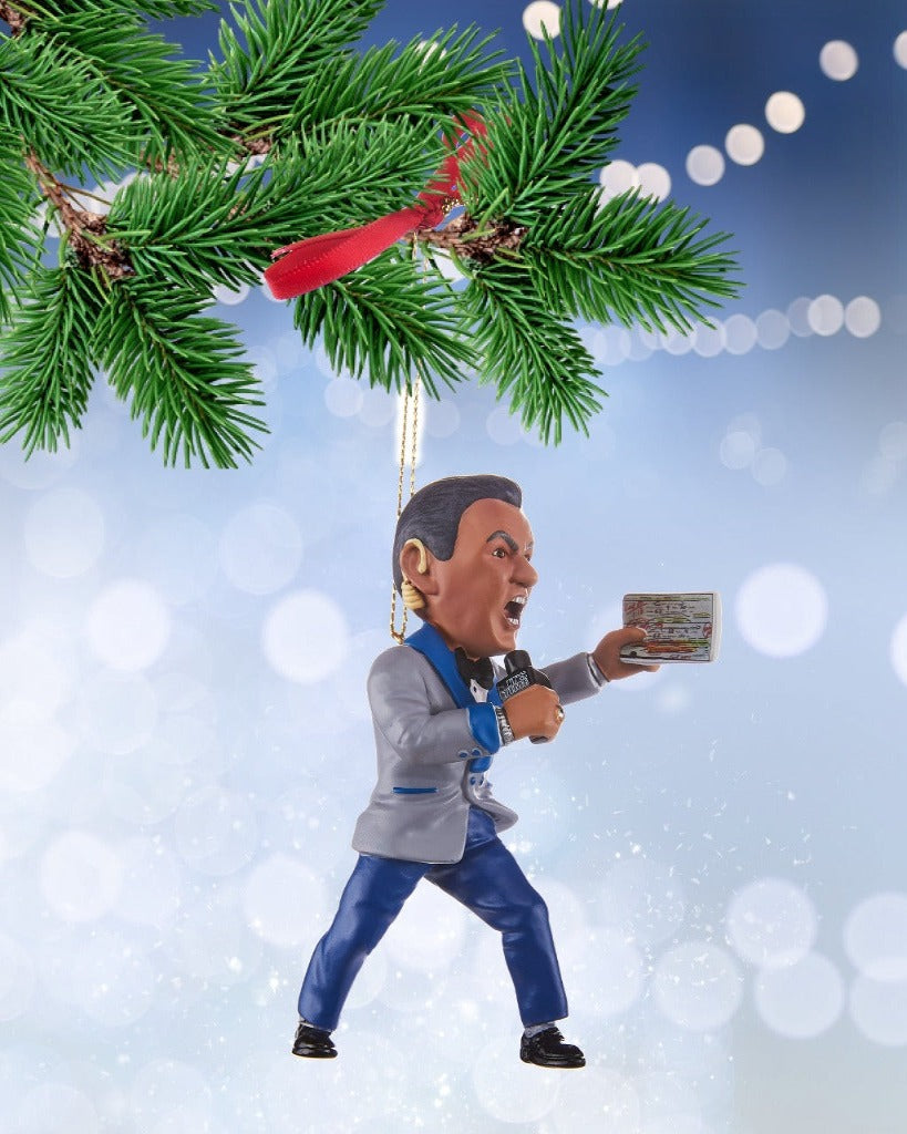 Bruce Buffer Christmas Ornament