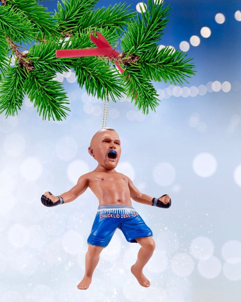 Chuck Liddell Christmas Ornament