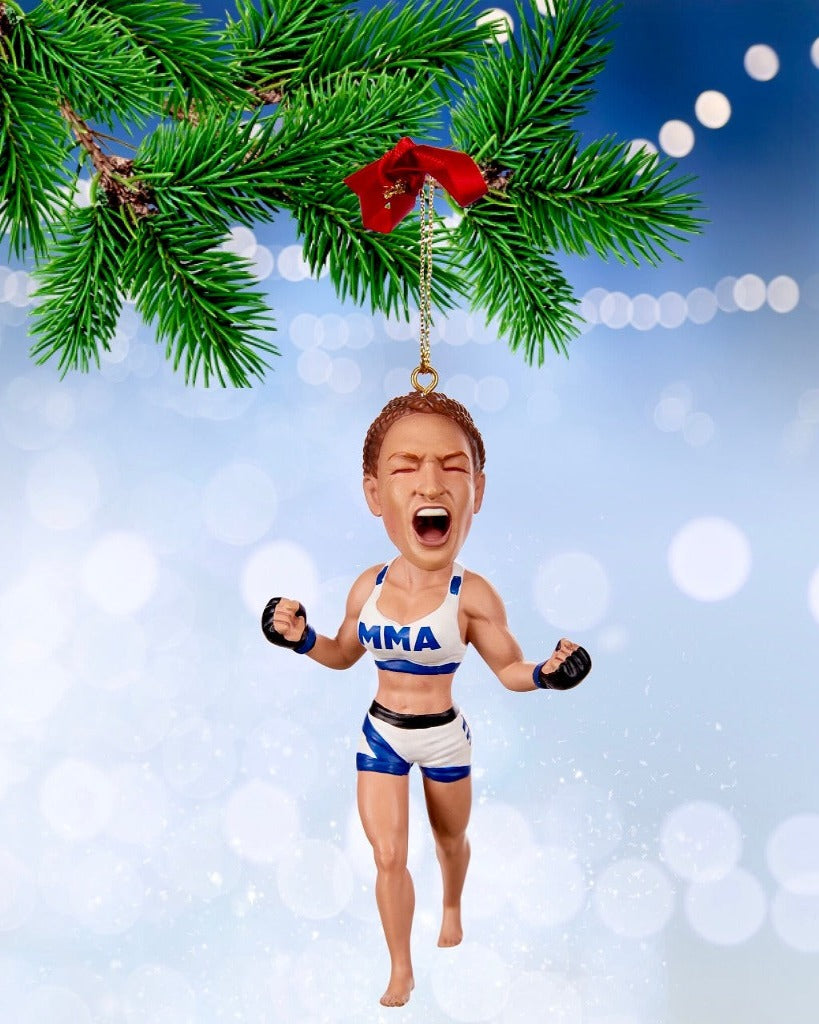 Miesha Tate Christmas Ornament