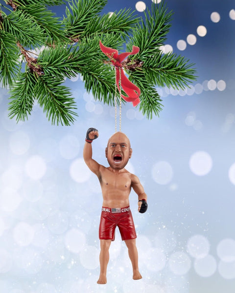 Randy Couture Christmas Ornament