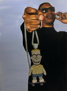 'Iced Out Bart' Gucci Mane by Dricasso