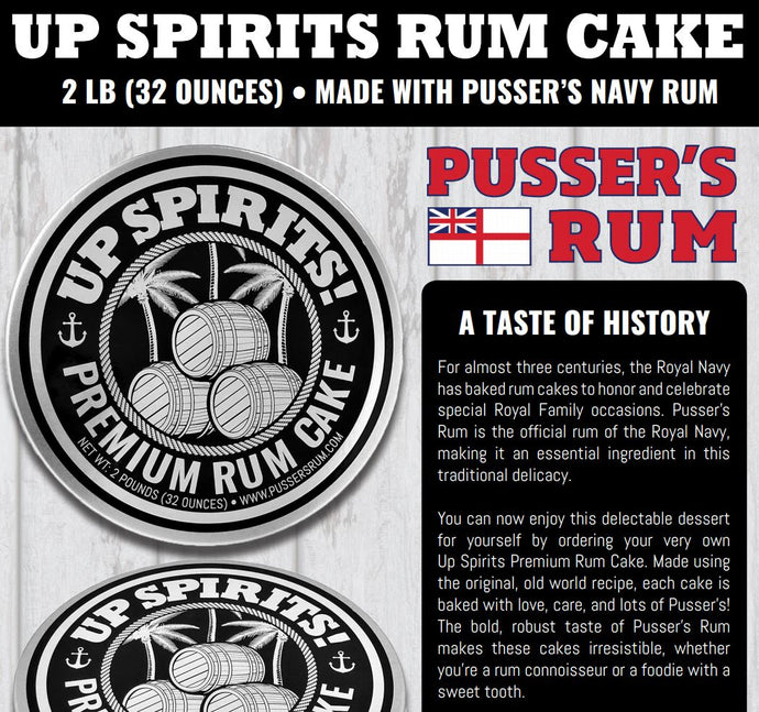 Pusser's Rum Cake for the holidays