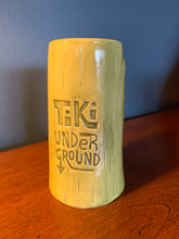 SHIPPED ONLY! First Anniversary Tiki Mug in limited edition GREEN glaze