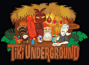 NEW Tiki Underground tee designed by Dr Bill