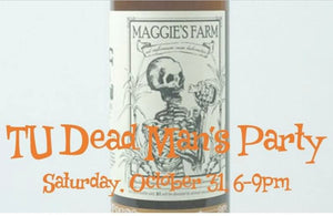 Ticket for TU Dead Man's Party on Halloween
